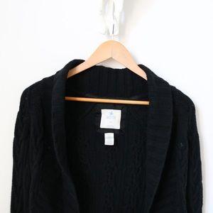 Black Knit Aeire by American Eagle Cardigan